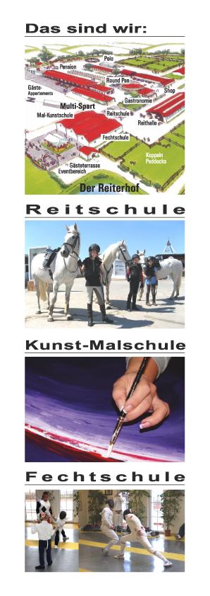 Reit-Kunst und Multisport