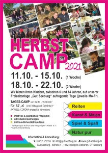 HerbstCamp Flyer 2021