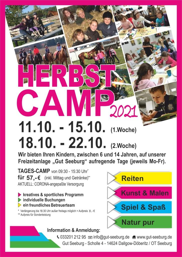 HerbstCamp Flyer 2021