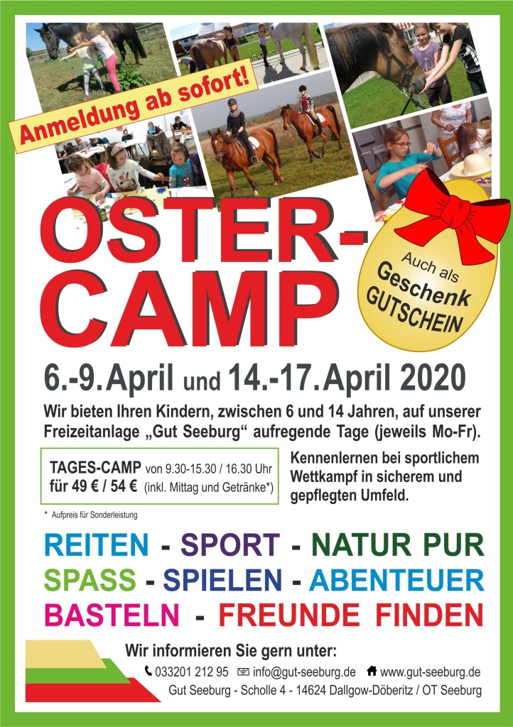 Ostercamp 2020