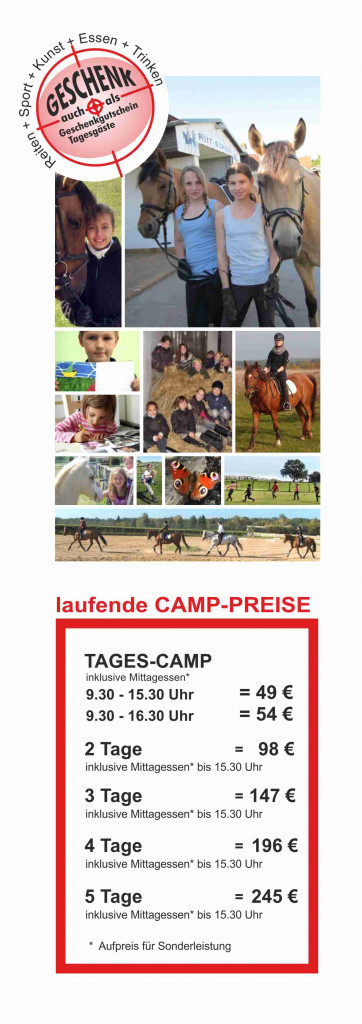 Preise Tagescamp 2020