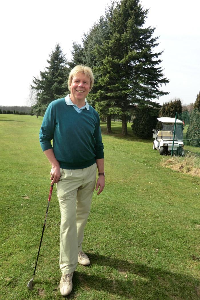 Golfprofi Oliver Hermes